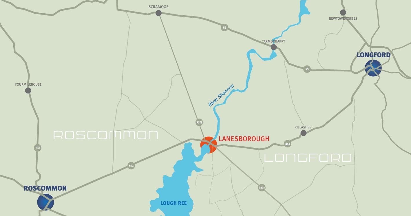 Two Provinces Triathlon Location