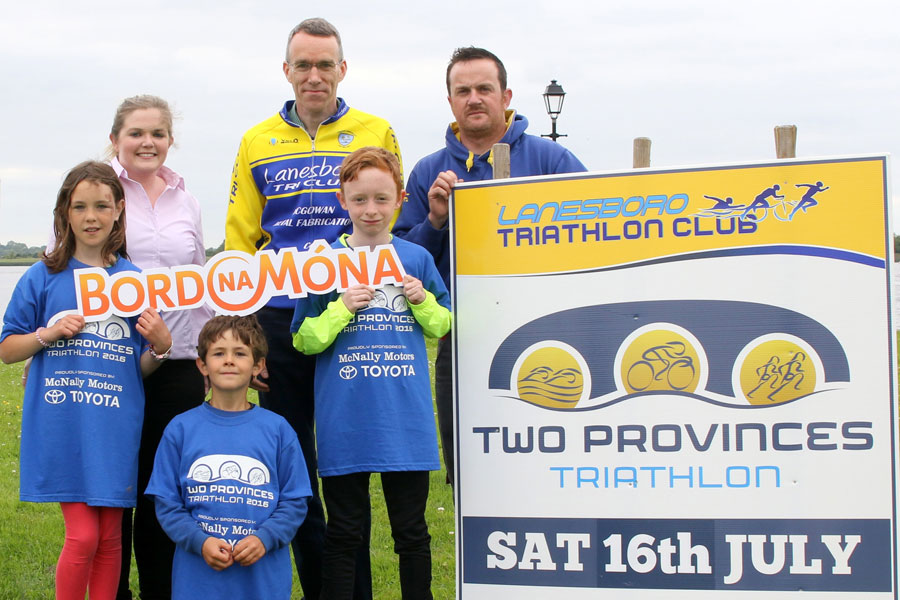 Bord na Mona - one of the sponsors of the 2016 Two Provinces Triathlon